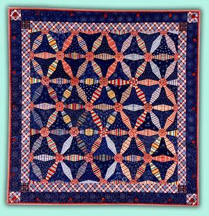 Mary Mashuta: Workshops : wagon wheel quilt - Adamdwight.com